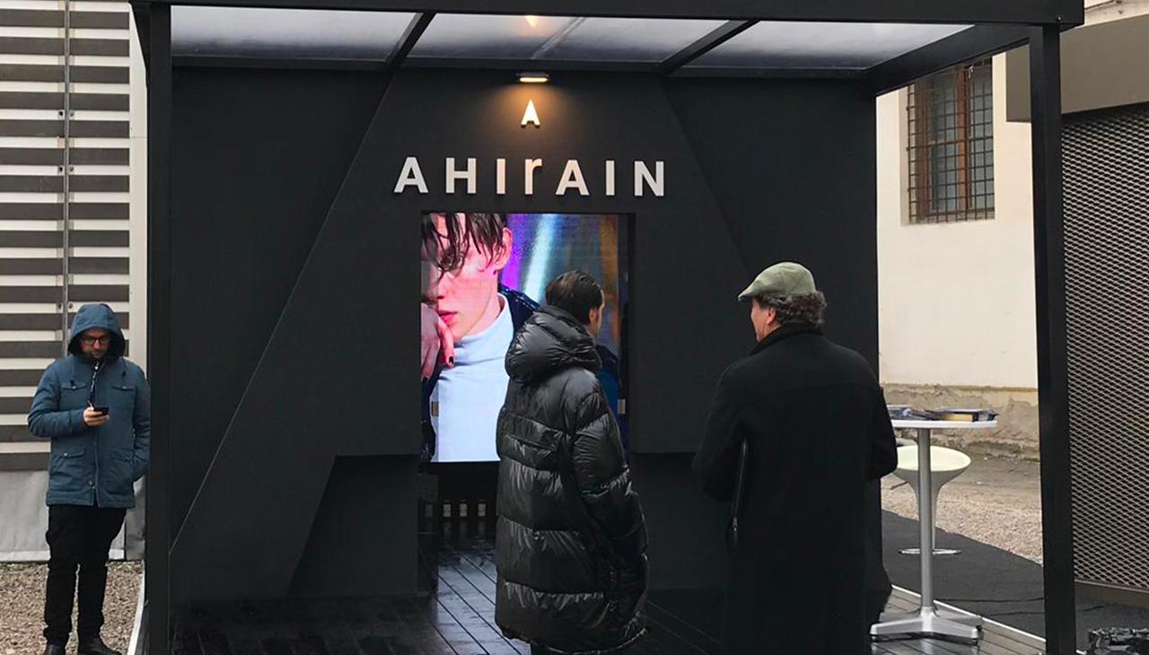 ahirain_pittiuomo stand gennaio'19